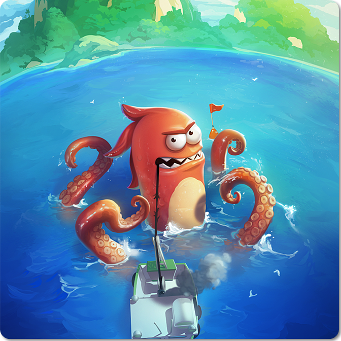 Monster Fishing screenshot